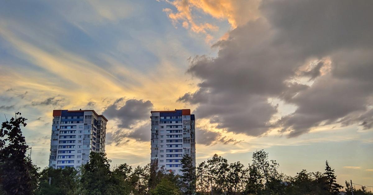 Городской ландшафт в Волгограде
