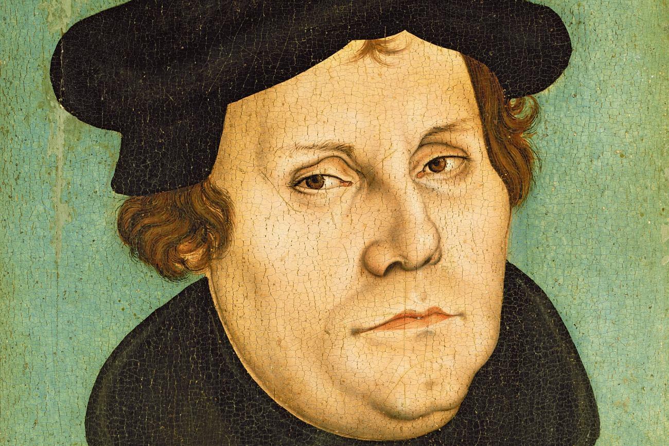 Портрет Мартина Лютера. Лукас Кранах старший. 1528