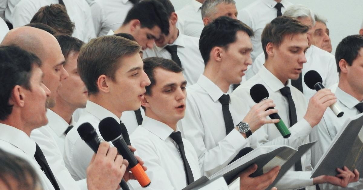 Служение хора в баптистской церкви