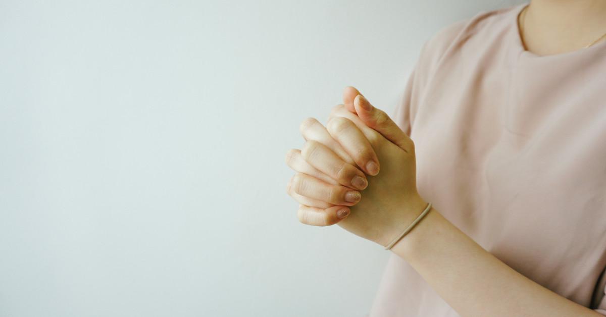 Руки молящегося / praying hands