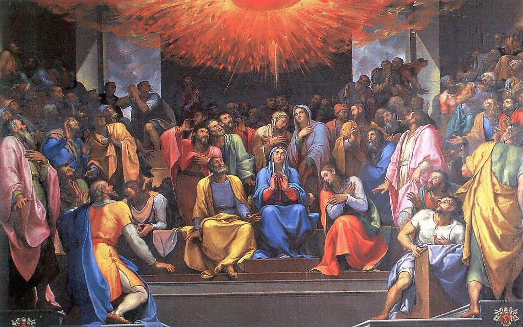 Пятидесятница, Джироламо Муциано