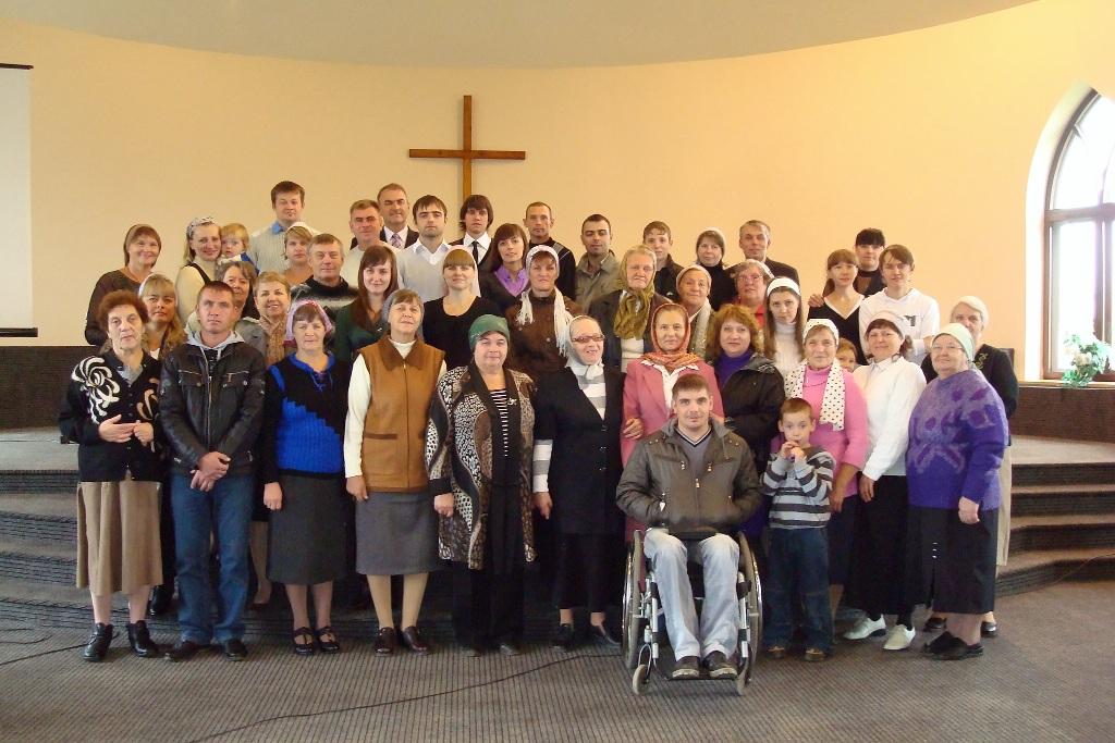 Община баптистской церкви в Городище