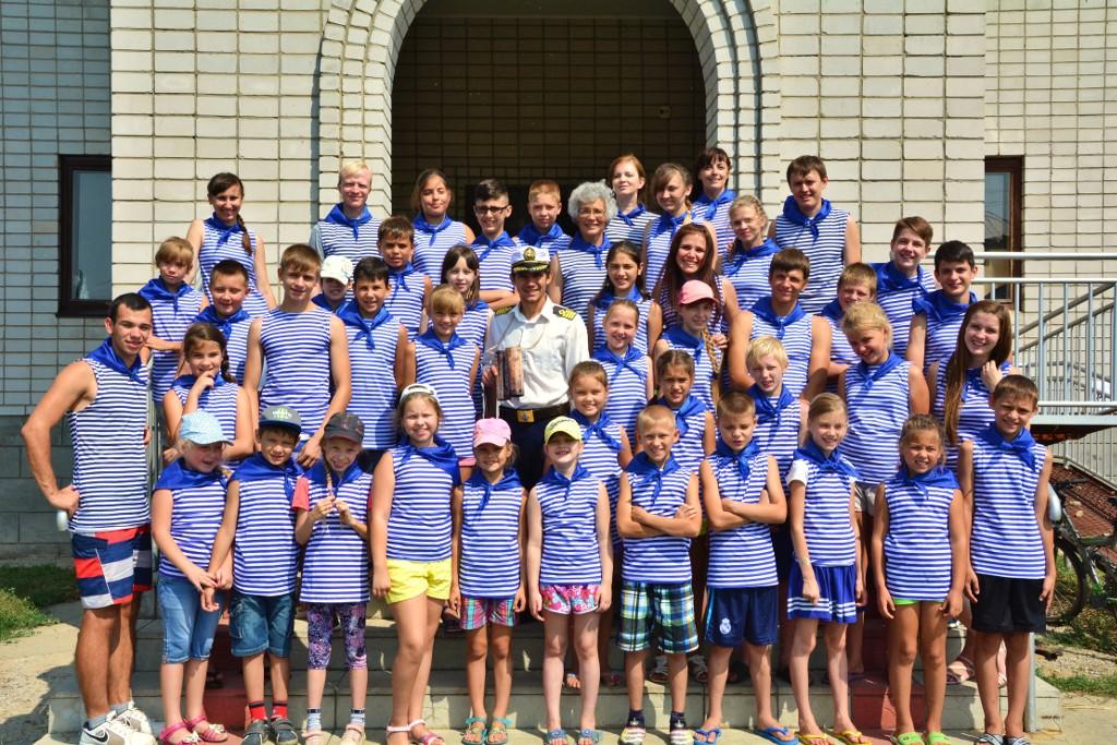 Детский лагерь при церкви ЕХБ в Городище