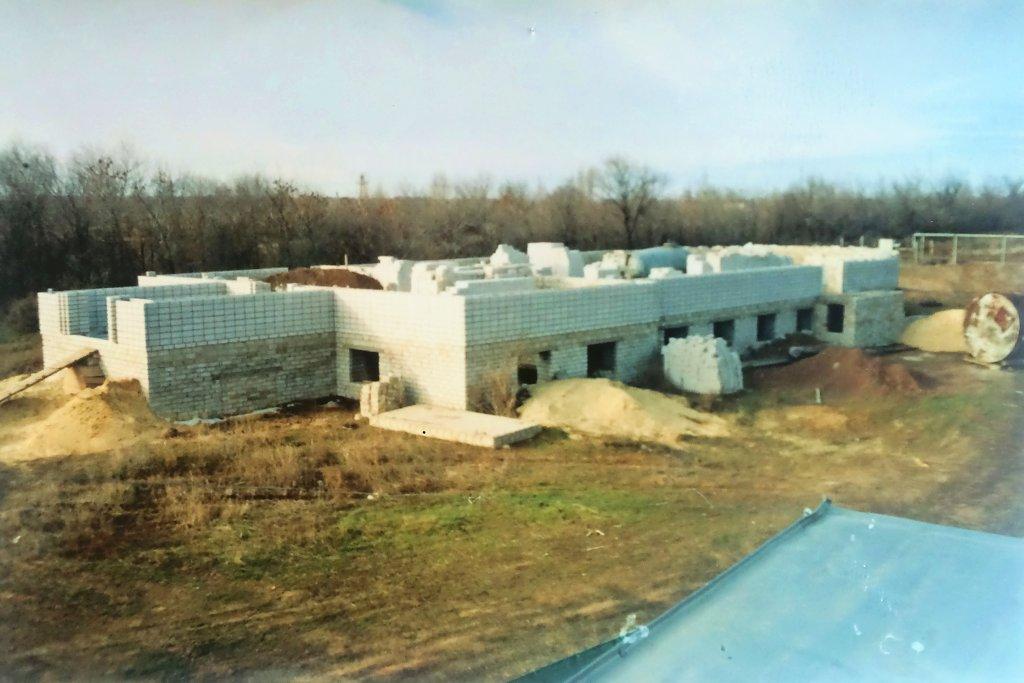Строительство дома молитвы церкви ЕХБ в Городище