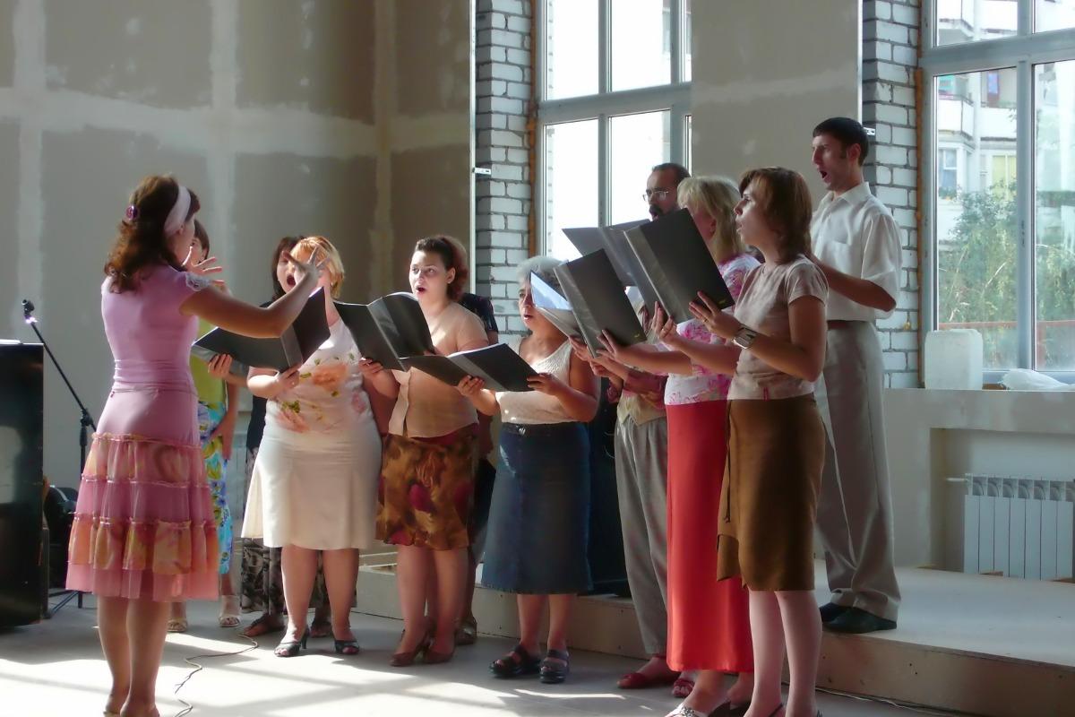 2007 год. Начало служения хора