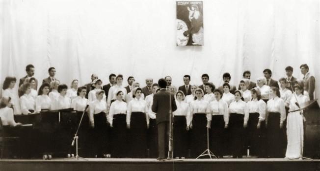 Евангелизационные служения во дворцах культуры в начале 90-х