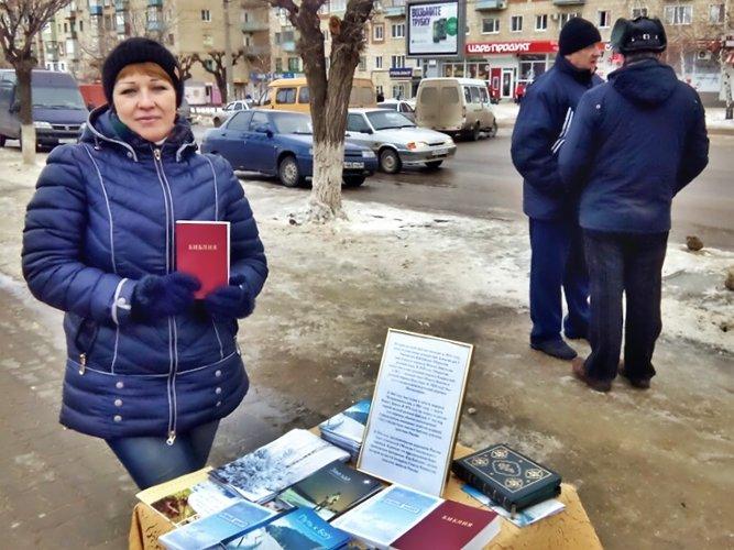 Новые Заветы в подарок жителям Камышина