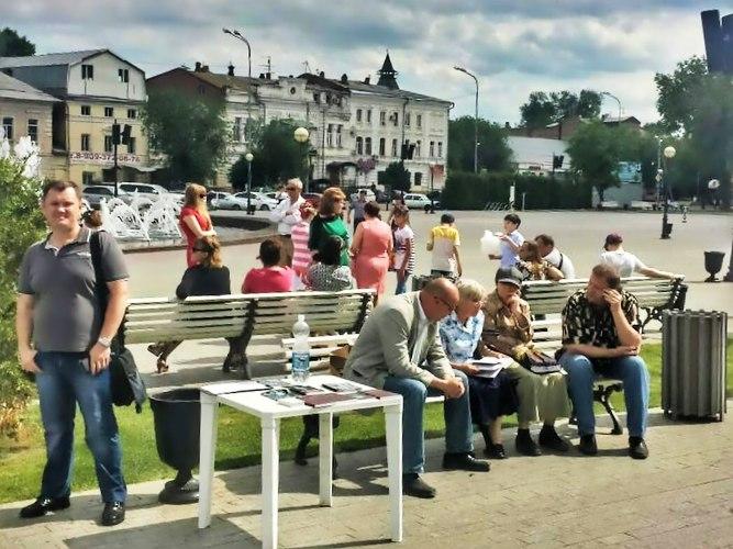 Миссионеры на улицах Астрахани
