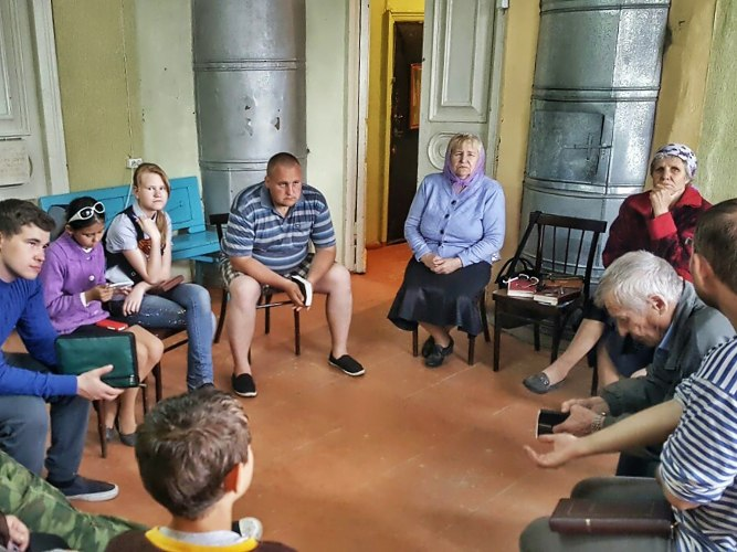 Участие в жизни церкви в Ленинске