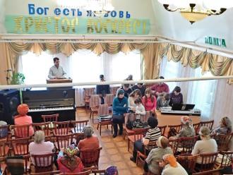 Богослужение в церкви Камышина