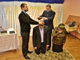 Рукоположение пастора Юрия Слащилина