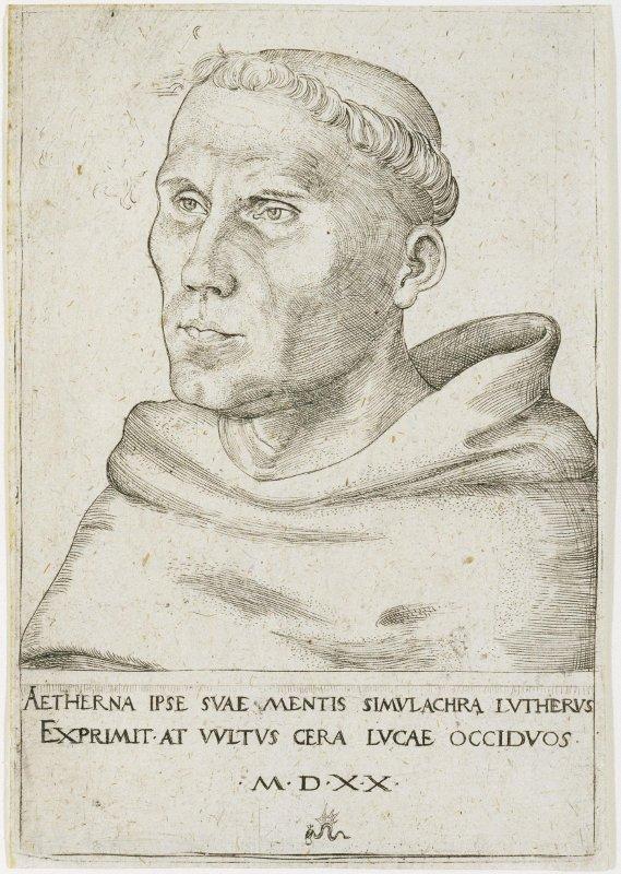 Монах Мартин Лютер. Лукас Кранах старший
