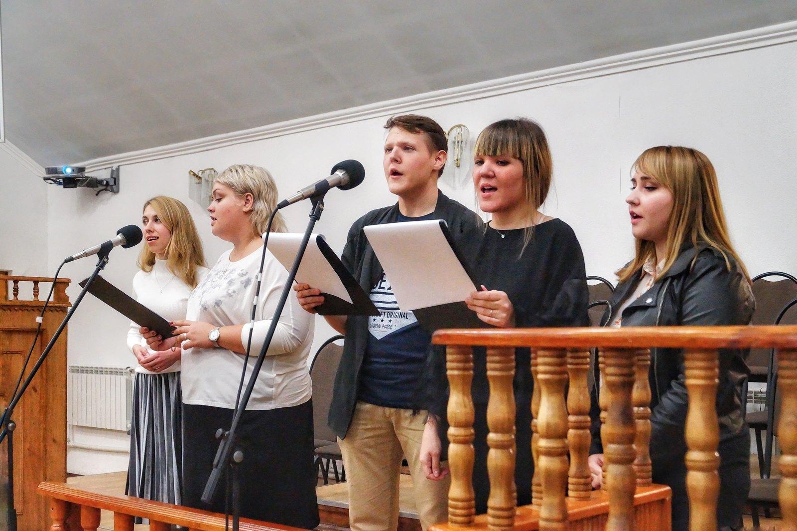 Группа прославления Волжской церкви