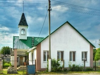 Реконструированный дом молитвы