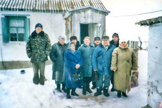 Начало Чернышковской церкви
