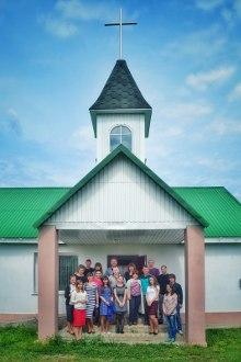 Посещение команды из Северной церкви Волгограда
