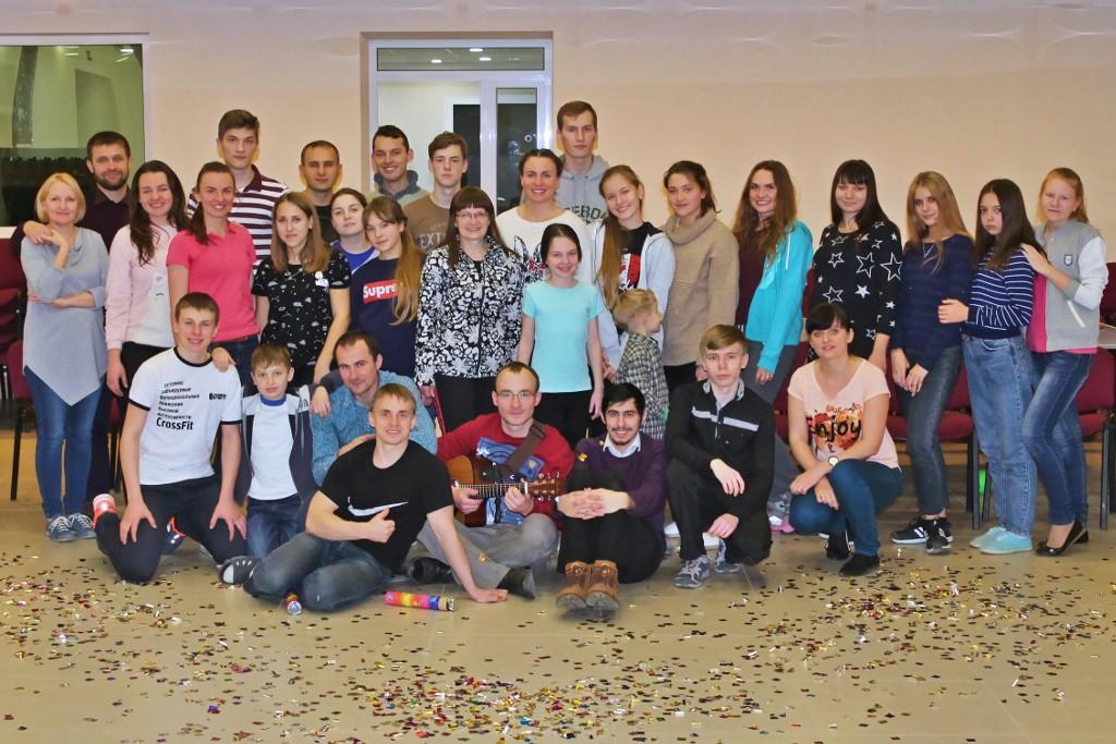 Молодёжное общение в Центральной церкви ЕХБ Волгограда