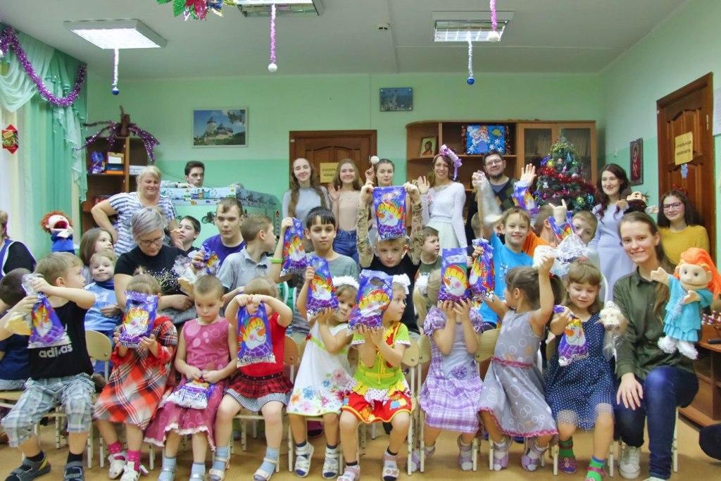 Южная церковь ЕХБ Волгограда посетила детский дом