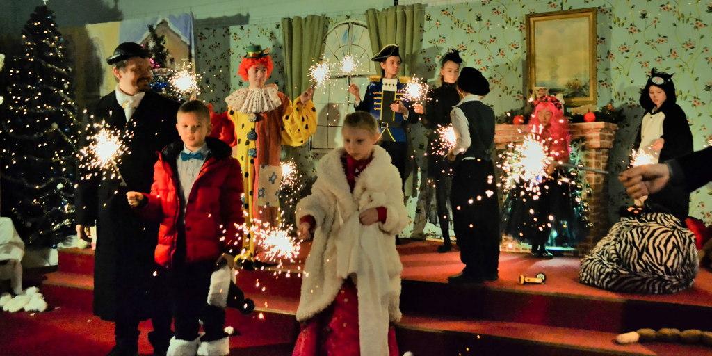 Рождественский праздник в церкви Преображения ЕХБ Волгограда