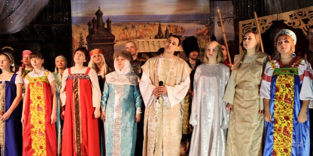 Христианский спектакль Князь Владимир