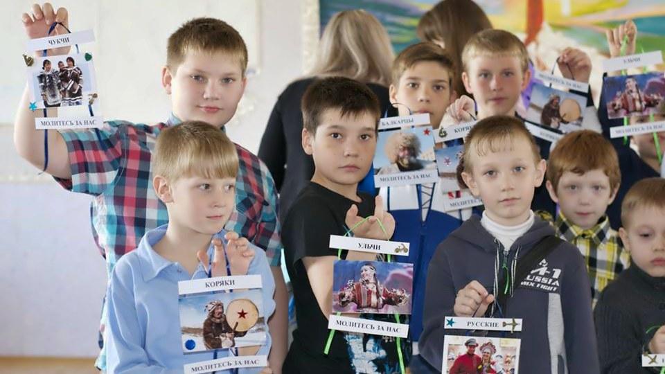 Молитва детей о народах России (2015 г.)