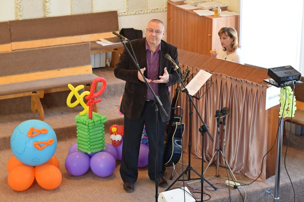 Пастор Владимир Николаевич Минаков