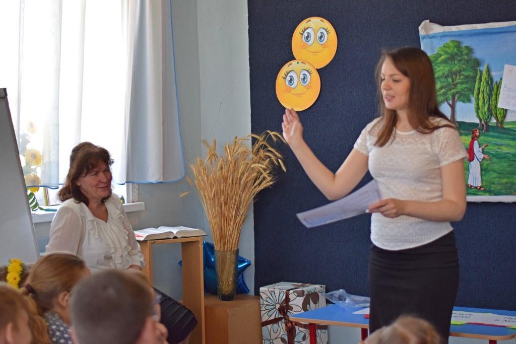 Служение проповеди среди детей