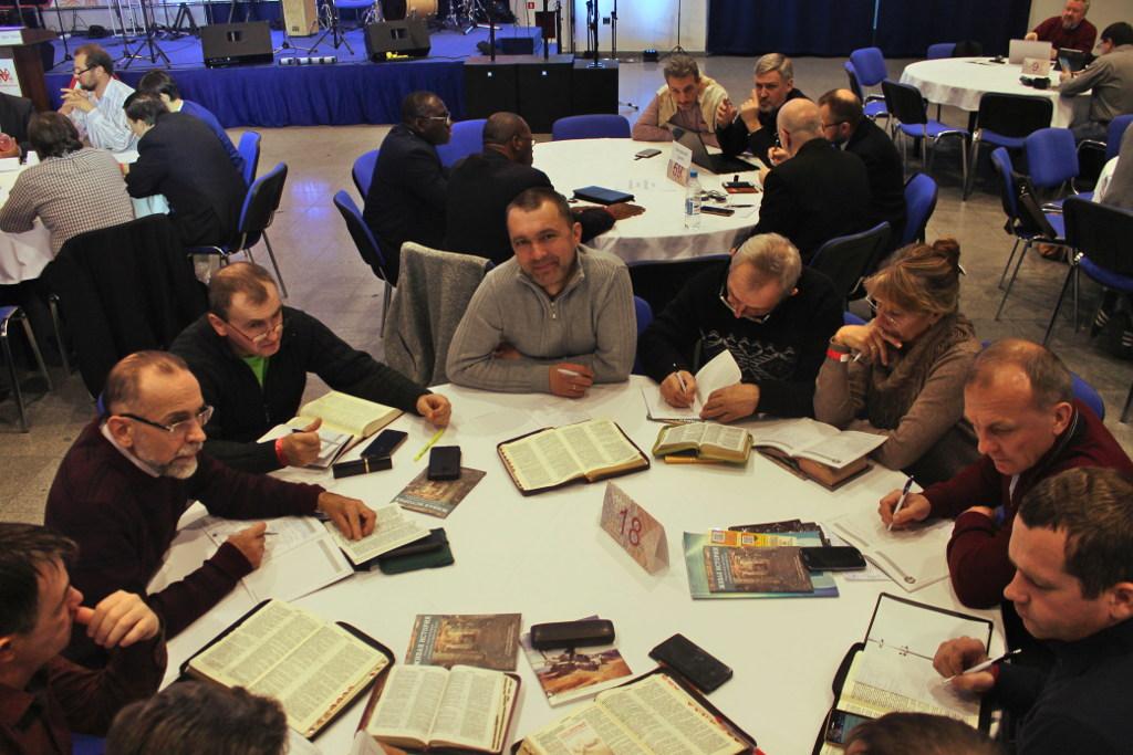 Волгоградская команда служителей на форуме Приумножение