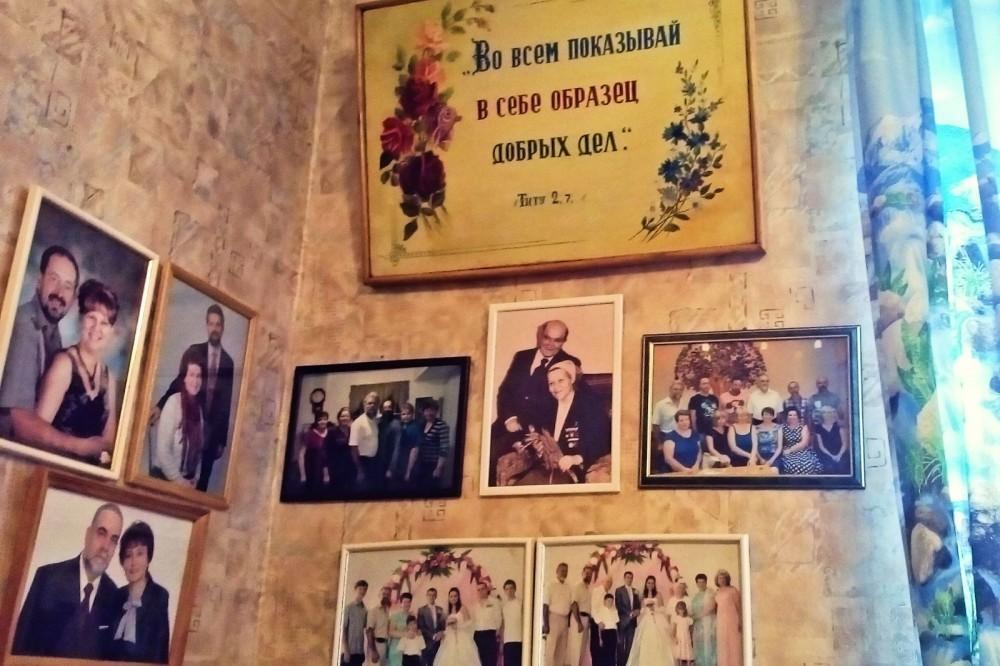 Семейные фотографии Воробьёвых