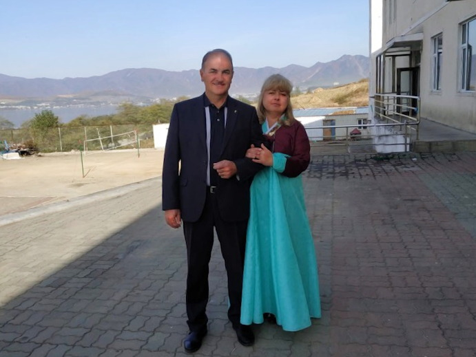 Николай и Натела Кривопустовы
