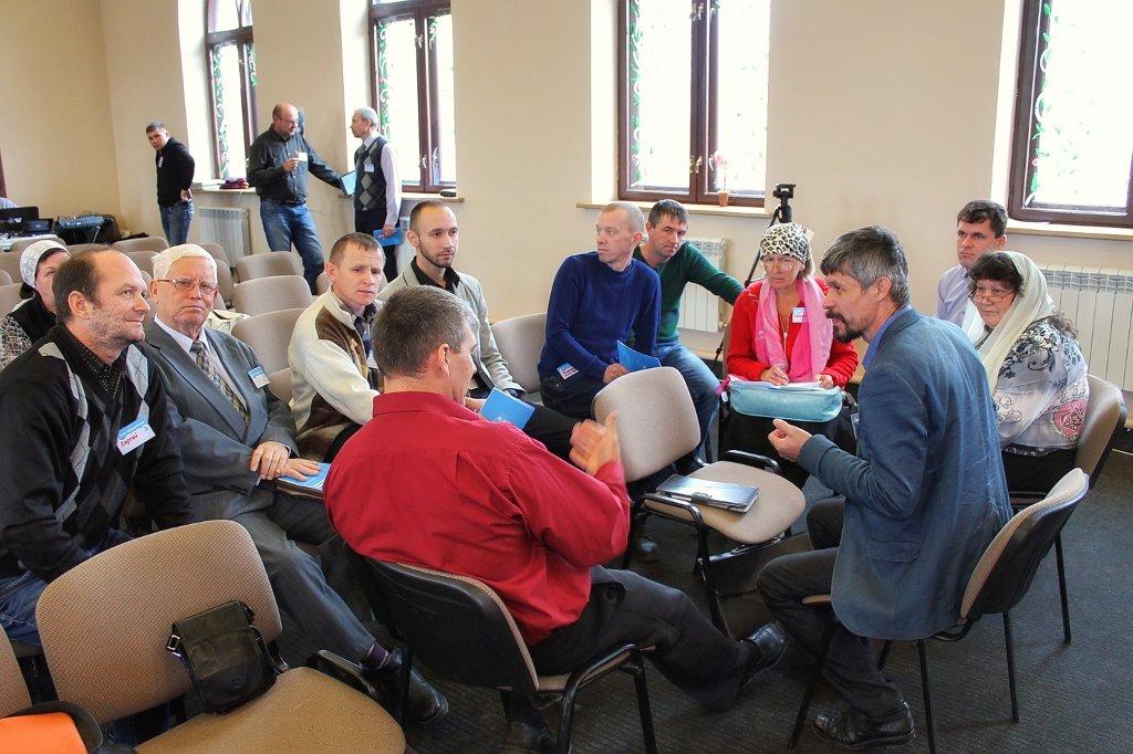 Дискуссионные группы после проповеди