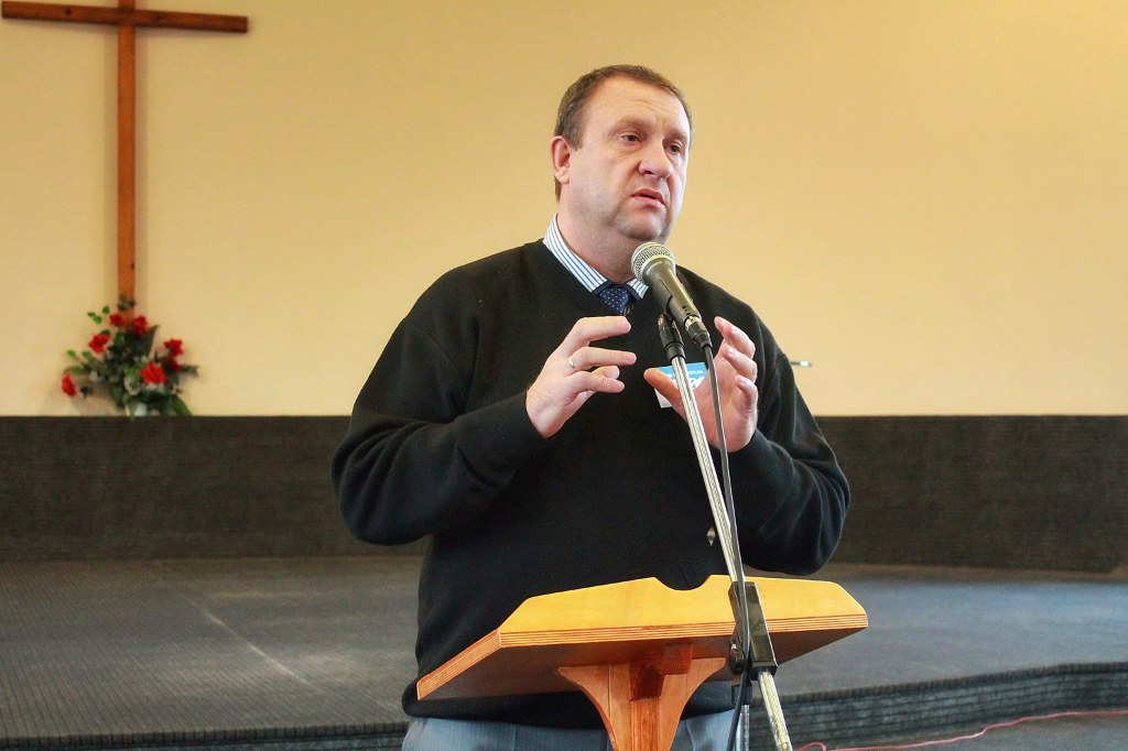 Миссионер Сергей Шишкин