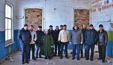Посещение исторического дома молитвы пасторами