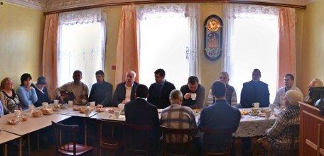Посещение церкви пасторами и председателем РС ЕХБ в январе 2015