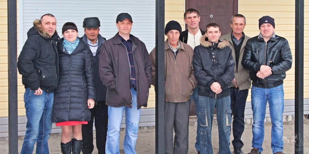 Представители ДКЦ Суходола в Михайловской церкви ЕХБ