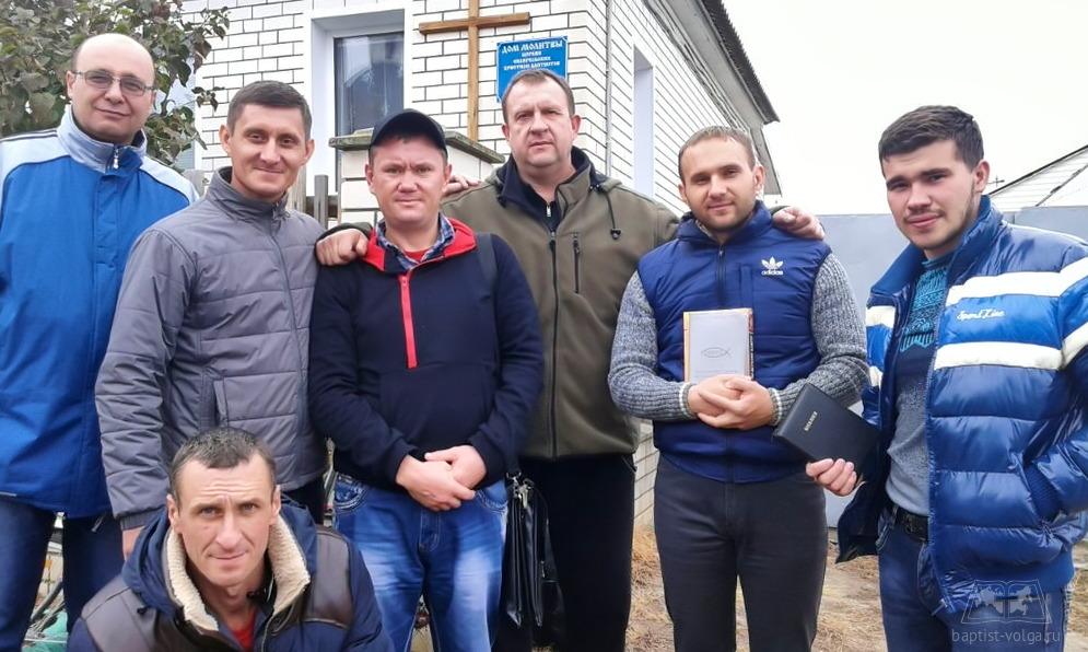 Студенты волгоградской миссионерской школы ЕХБ посетили Урюпинскую церковь