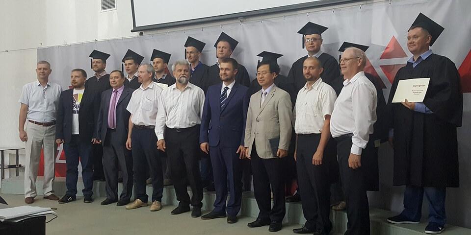 Первый выпуск студентов миссионерской школы ЕХБ в Волгограде