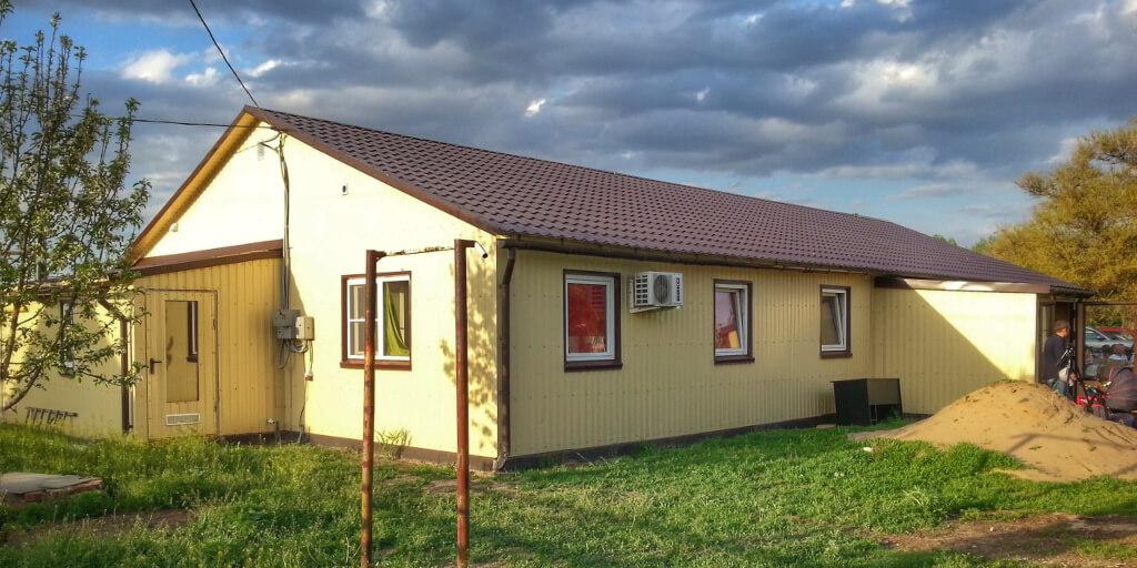 Новое здание реабилитационного центра