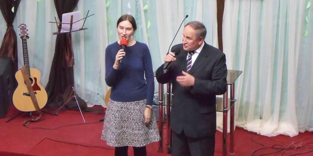 Борис и Наталья Бережные