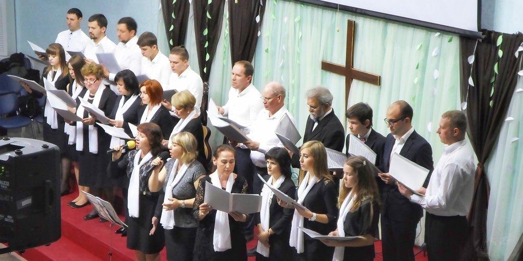 Хор церкви Преображения ЕХБ Волгограда