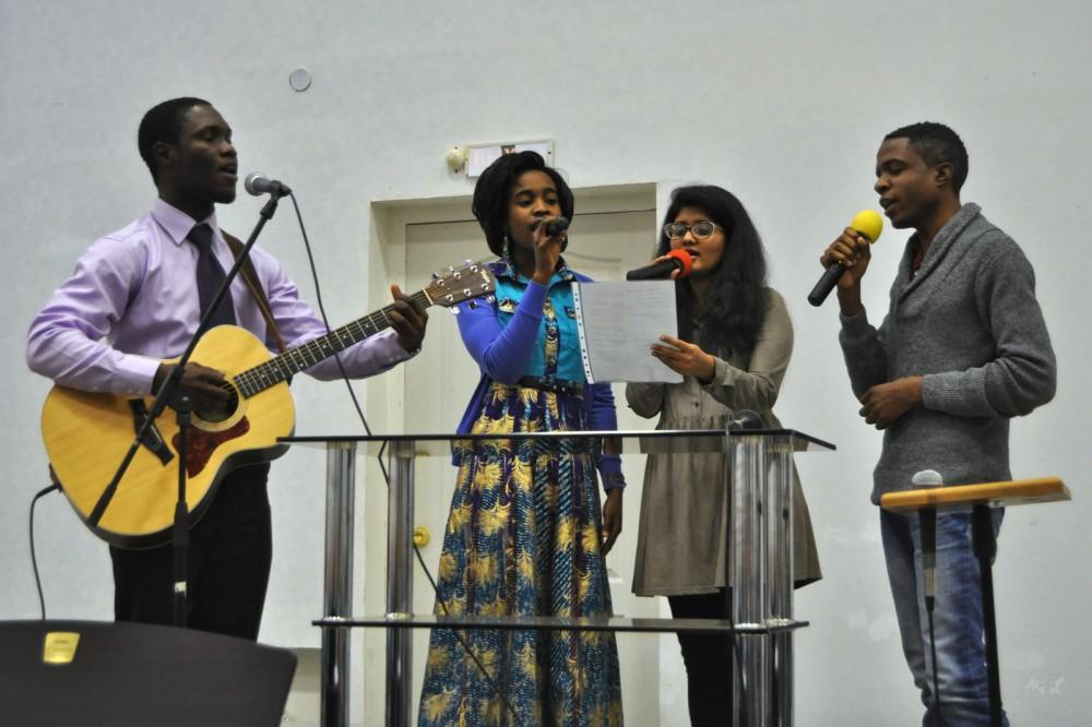 Группа прославления из церкви Койнония