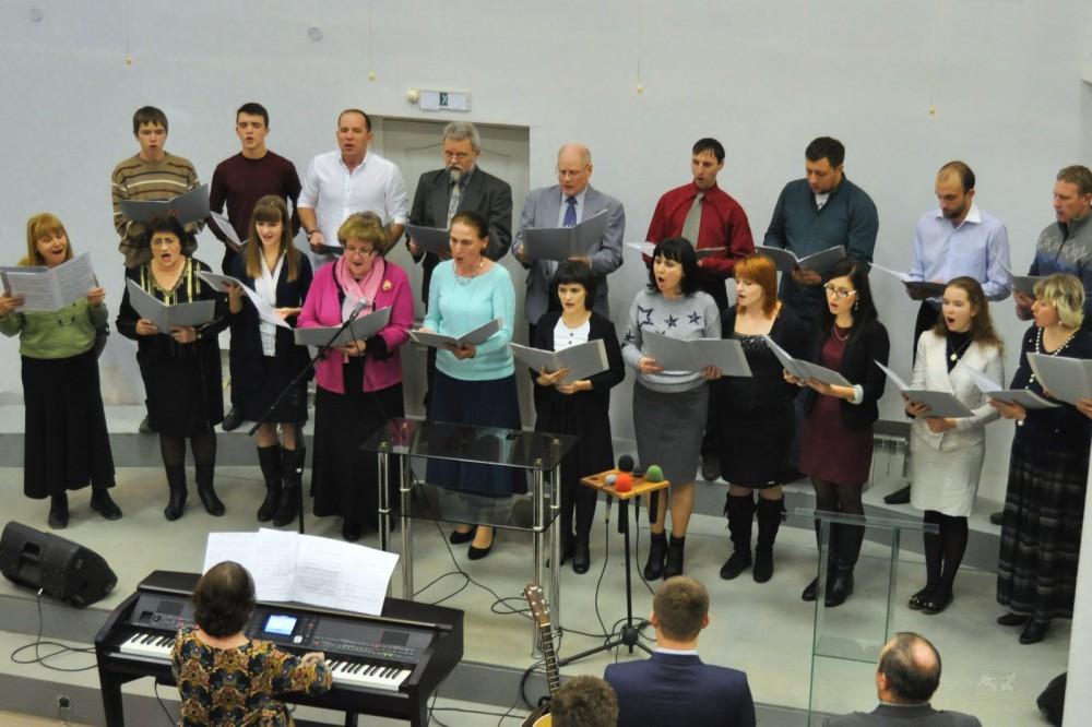 Группа прославления из церкви Преображения
