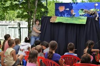 Кукольный театр для цыганских детей