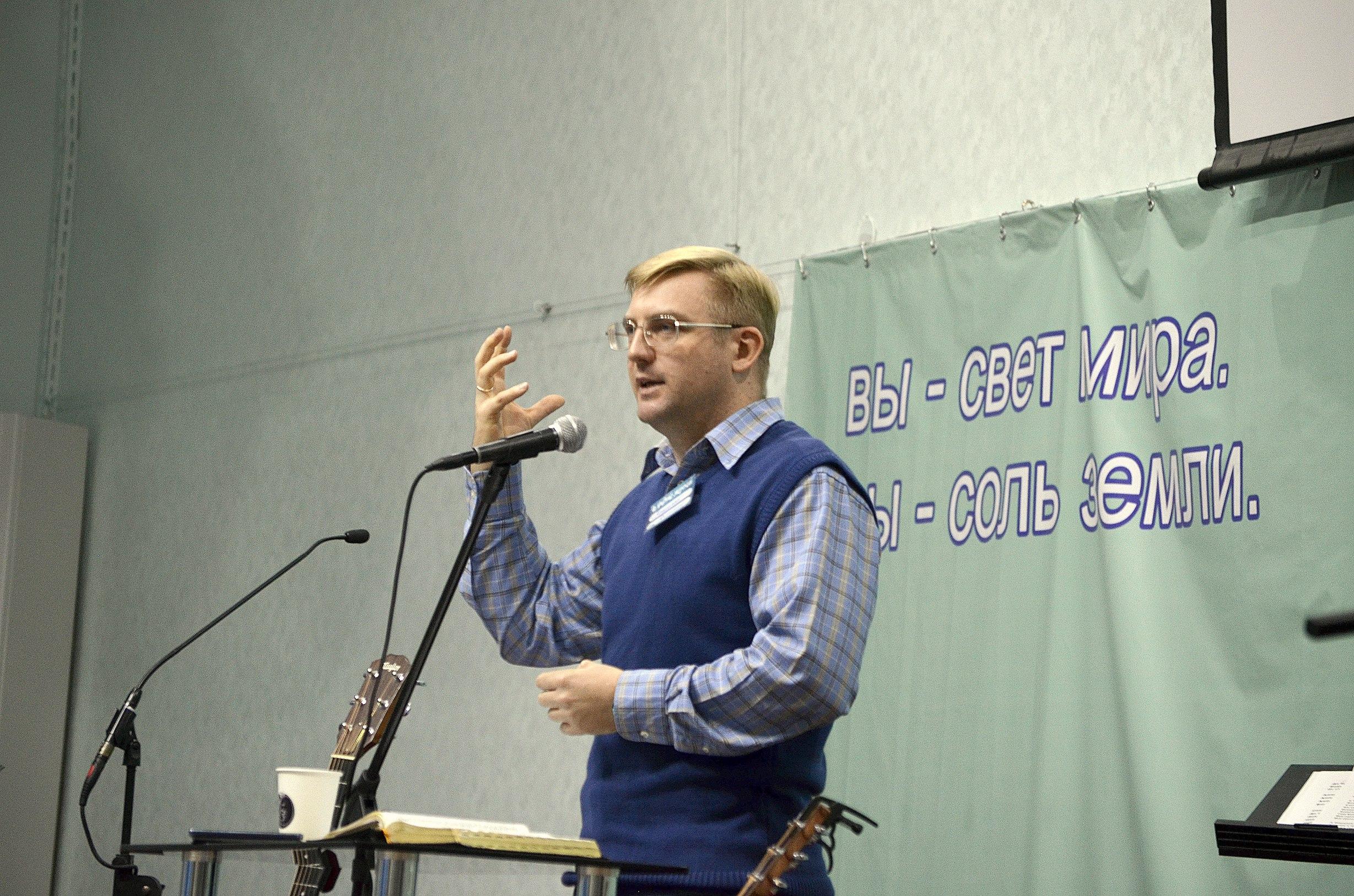 Проповедник Вениамин Маслихин